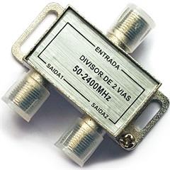 Divisor Coaxial Blindado de Alta Frequência com 4 Saídas - TMS