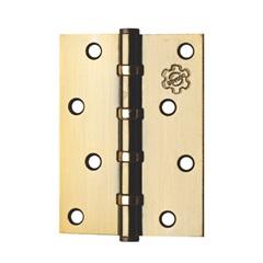 Dobradiça para Porta 891 em Aço com Anel 3.1/2x3'' Oxidada - Silvana