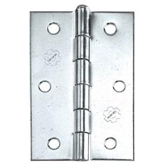 Dobradiça para Portas em Aço 3.1/2'' Cromada - Silvana