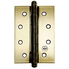 Dobradiça para Portas em Aço 3.1/2'' Oxidada - Silvana