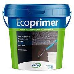 Ecoprimer para Mantas Asfálticas Marron Escuro 3,6 Litros - Viapol