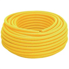 Eletroduto Corrugado em Pvc Tigreflex 20mm com 25 Metros Amarelo - Tigre