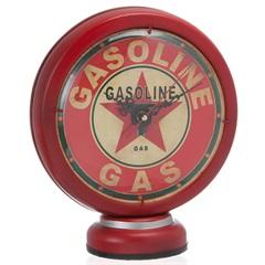 Enfeite Relógio Bomba Gasolina Fione Vermelho - Casa Etna