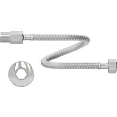 """Engate Flexível em Aço Inoxidável 1/2"""" 40cm Cromado - Censi"""