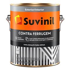 Esmalte Brilhante Contra Ferrugem Marrom 3,6 Litros - Suvinil
