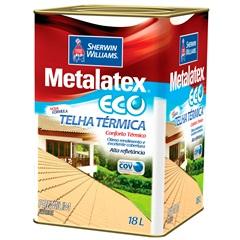 Esmalte Brilhante Premium Metalatex Eco Telha Térmica Vermelha 18 Litros - Sherwin Williams