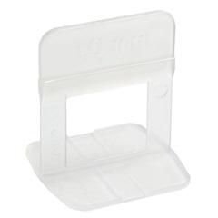 Espaçador de Plástico para Nivelamento de Piso 1,5mm Transparente - Cortag