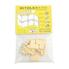 Espaçador Reutilizável Cruz 2mm para Pisos, Azulejos E Pedras - Completa Bitolex