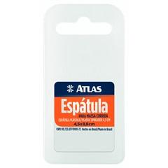 Espátula para Massa Corrida 4,5x8,8cm Branca - Atlas