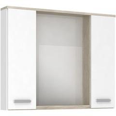 Espelheira Aprilia Mezzo Blanco 80 Cm - Darabas Agardi