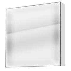 Espelheira Blu Quadrada 60cm Branca - Bumi Móveis