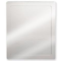 Espelheira em Aço Inox 40x50cm Prata - H. Chebli