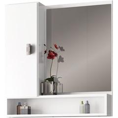 Espelheira em Mdf Orquídea 60x57cm Branca - Cozimax