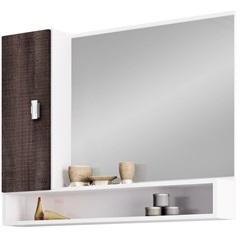 Espelheira em Mdf Orquídea 60x74,5cm Branco E Dakota - Cozimax