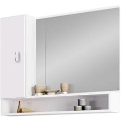 Espelheira em Mdf Orquídea 60x76cm Branca - Cozimax