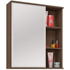 Espelheira em Mdf Treviso 63,5x55,8cm Castanha - MGM Móveis