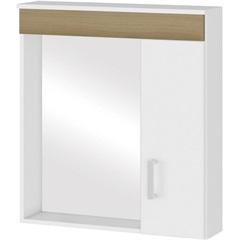 Espelheira em Mdf Turim 60x63cm Nogueira - MGM Móveis
