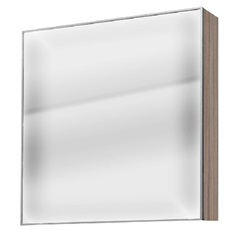 Espelheira Mdp Blu Grigio 60x60cm - Bumi Móveis