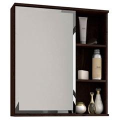 Espelheira Suspensa para Banheiro Treviso 63,5x55,8cm Café - MGM Móveis