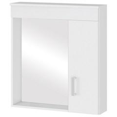 Espelheira Turim em Mdf 63x60cm Branco - MGM Móveis