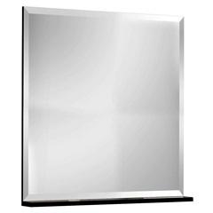 Espelheira Yes Preto 60cm       - Bumi Móveis