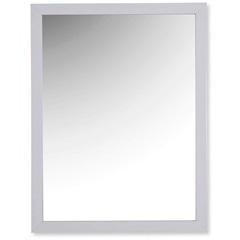 Espelho Caixa 44x34cm Branco - Casa Etna
