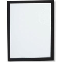 Espelho Caixa 44x34cm Preto - Casa Etna