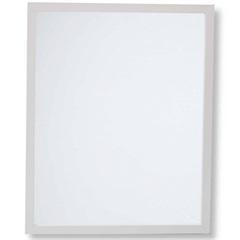 Espelho Caixa 54x44cm Branco - Casa Etna