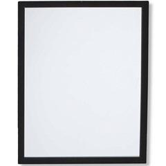 Espelho Caixa 54x44cm Preto - Casa Etna