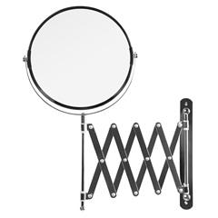 Espelho com Braço Sanfonado Cromado - Sicmol