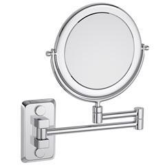 Espelho com Duas Faces Hotel Cromado - Deca
