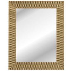Espelho Corrente 47x37cm Dourado  - Kapos