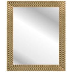 Espelho Corrente 57x47cm Dourado  - Kapos