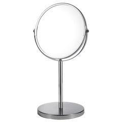 Espelho de Aumento de Mesa 34x18,5cm Cromado - Casanova