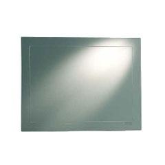 Espelho de Cristal Prata 69x53cm Vertical/Horizontal  - Chebli