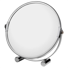 Espelho de Mesa 16,5x18,5cm Cromado - Casanova
