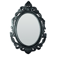 Espelho de Parede Baroque 50x77cm Cinza - Conthey