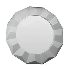 Espelho de Parede Border 60x60cm Branco - Conthey
