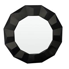 Espelho de Parede Border 60x60cm Preto - Conthey