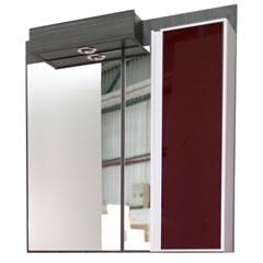 Espelho de Parede em Mdf Massimo 45x100cm Ébano Exótico E Búlgaro - Mazzu