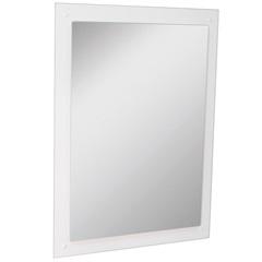 Espelho de Parede em Mdf Munique 83x60cm Branco - Irmãos Corso