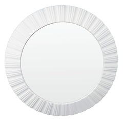 Espelho de Parede Louis 51x51cm Branco - Conthey