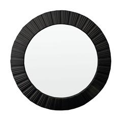 Espelho de Parede Louis 51x51cm Preto - Conthey