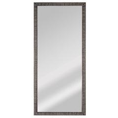 Espelho de Parede Retangular Coral 100 93x25cm Prata - Espelhos Leão