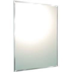 Espelho de Parede Retangular Cris Belle Bisotê 72x60cm - Cris Metal