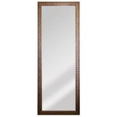 Espelho de Parede Retangular Esmeralda 169x63cm Dourado - Espelhos Leão