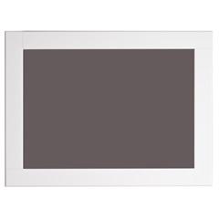 Espelho de Parede Retangular Especial 80x60cm Branco - Formacril