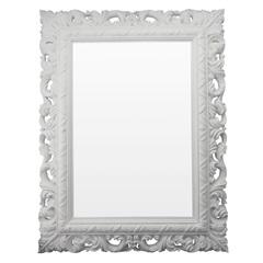 Espelho de Parede Rocco 51x66cm Branco - Conthey