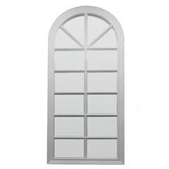 Espelho de Parede Veneza 33x76cm Branco - Conthey
