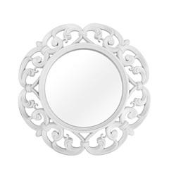 Espelho de Parede Vênus 60x60cm Branco - Conthey